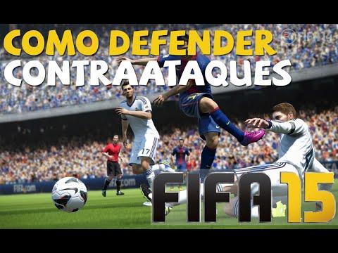 Como defender contraataques en FIFA 15 PC XBOX PS