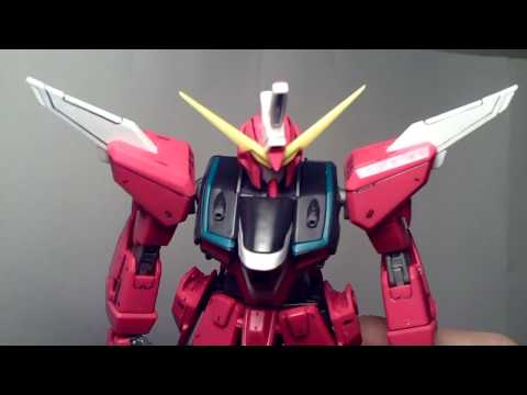 1/100 MG Infinite Justice Gundam (TT Hongli) Review Part 1 Video