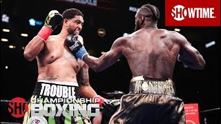 Deontay Wilder's Thrilling First Round Knockout | All Angles | SHOWTIME CHAMPIONSHIP BOXING