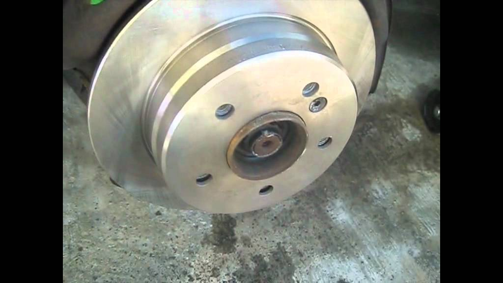 1987 mercedes benz 300e rear brake pads rotors replace for Mercedes benz rotors replacement
