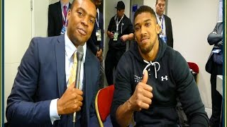 Anthony Joshua: Deontay Wilder, You Need To STEP YOUR GAME UP!