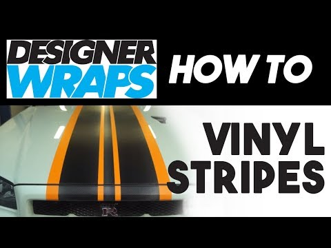 Applying 3M Designer Wrap - Stripes and Accents