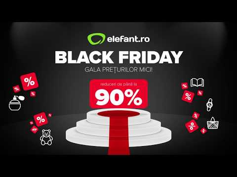Black Friday la elefant.ro - 16:9 - Femei - V1