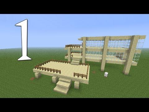 Tutoriais Minecraft: Como Construir uma Casa de Arenito 1 2