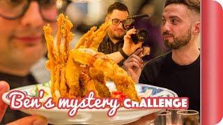 £45 Mystery Night Food Challenge - Pigs on Sticks & Improv?!?