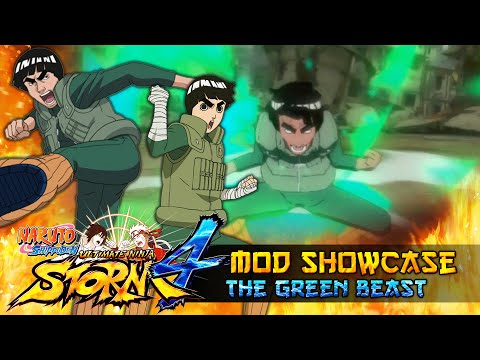 Might Guy X Rock Lee The Green Beasts!!! Naruto Shippuden Ultimate Ninja Storm 4 Mod thumbnail