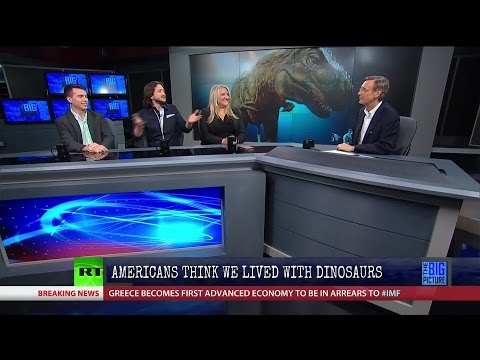 Full Show 6/30/15: 41% of Americans Believe Humans Lived with Dinosaurs