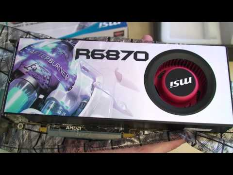 MSI AMD Radeon HD 6870 Unboxing