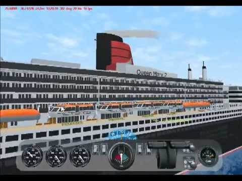 Virtual Sailor Queen Mary 2 Y Ss Poseidon YouTube