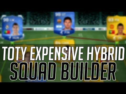 TOTY RONALDO + MESSI EXPENSIVE HYBRID SQUAD    FIFA 14 Ultimate Team Squad Builder (FUT 14)