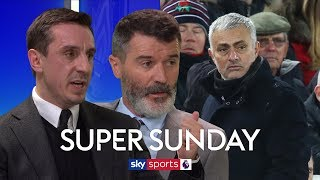 Roy Keane Gary Neville On Whether Sacking Mourinho Would Fix Man United 39 S Problems Super Sunday