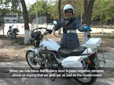 pakistani police women on bikes