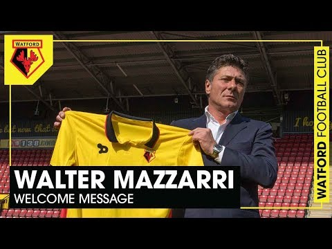 WELCOME: Mazzarri's Message For Watford Fans