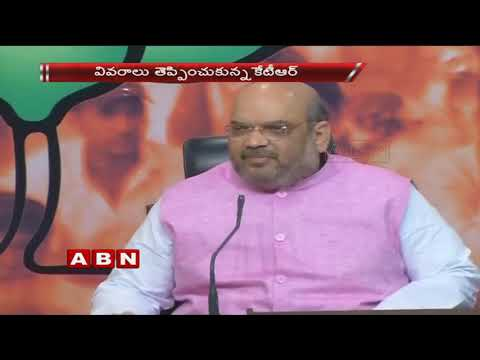 'Selfish TRS' Refusing Ayushman Bharat scheme, Says Amit Shah | ABN Telugu