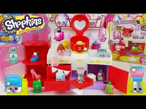 Шопкинс 3 сезон, игровой набор Магазин косметики / Shopkins Make Up Spot Playset Seson 3 Toy