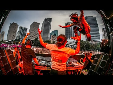Dimitri Vegas, Steve Aoki & Like Mike's 3 Are Legend - Live At Ultra 2015 FULL HD SET
