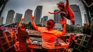 "download lagu Dimitri Vegas, Steve Aoki & Like Mike's ""3 Are gratis"