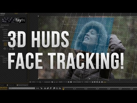 AE │fayIN Tracking Tutorials - 02 - Advanced 3D HUD Tracking!