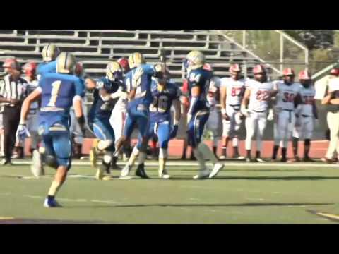 Allan Hancock College football vs Santa Barbara City College, 2014