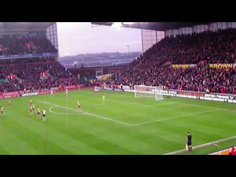 Stoke City - Jon Walters Goal Celebration