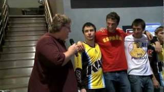 Dota2 награждение Na`Vi the Champions $ 1000000 Prize [The International] gabe newell