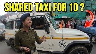 Darjeeling shared TAXI HUNT for 200 rupees !