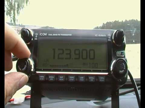 Icom IC-E2820, PMR, Freenet, Aeroplanes, some fun in the country