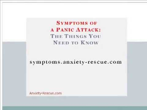 Panic Attack -- Learn the Symptoms