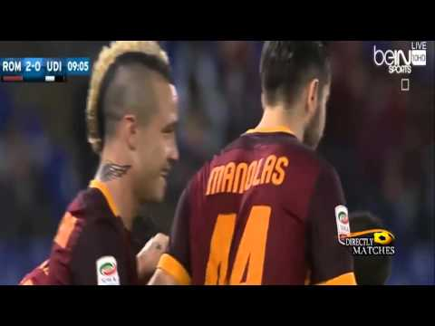 MBSbetting   AS Roma vs Udinese 3 1 All Goals 28 10 2015