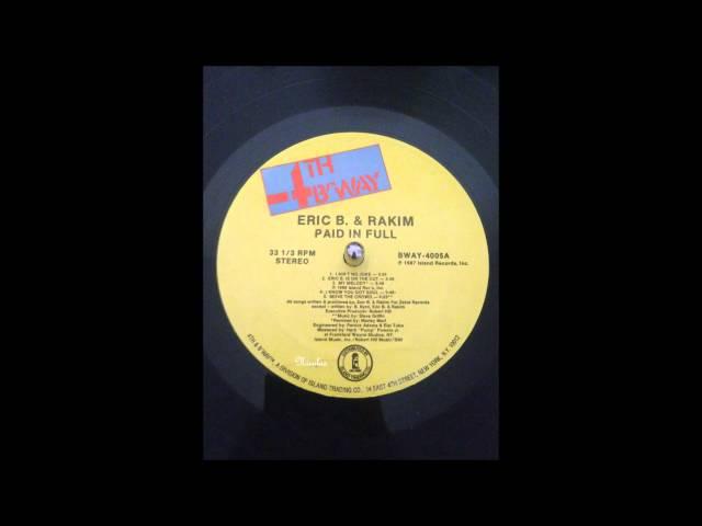 Eric B. amp Rakim - I Know You Got Soul  1987
