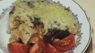 Куриная грудка с грибами (Кухня народов мира: простые кулинарные рецепты)