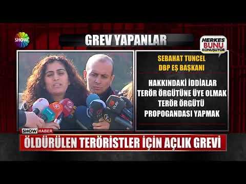 Öldürülen teröristler için açlık grevi