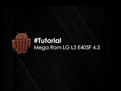 Legend Rom Para L3 E405F