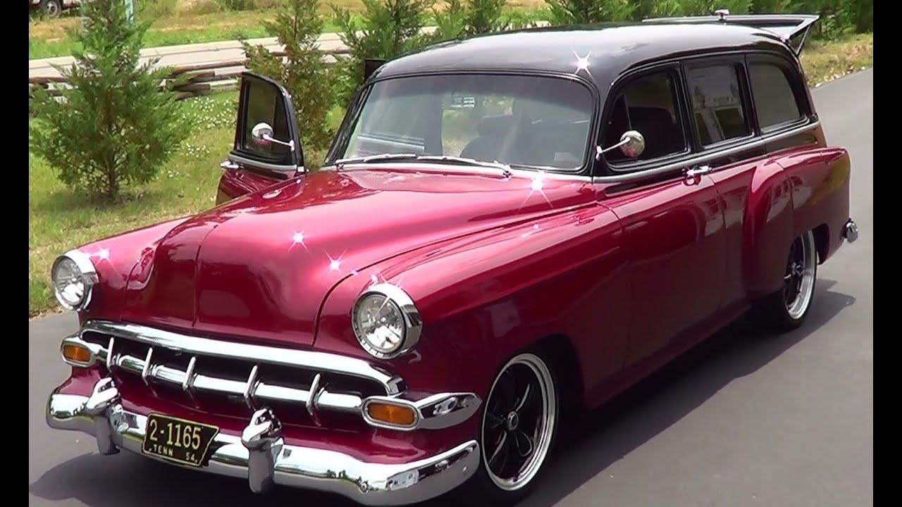 1954 Chevrolet Station Wagon Street Rod Youtube