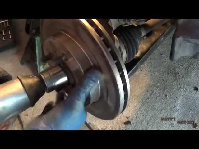Wheel Bearing Replacement - Part 1 [2002 Mitsubishi Lancer ...