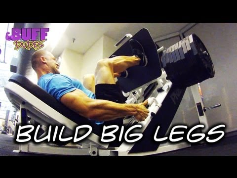 How To Build Massive Legs - Buff Dudes Image 1