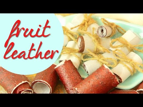 Fruit Leather Snacks | CHEAP CLEAN EATS