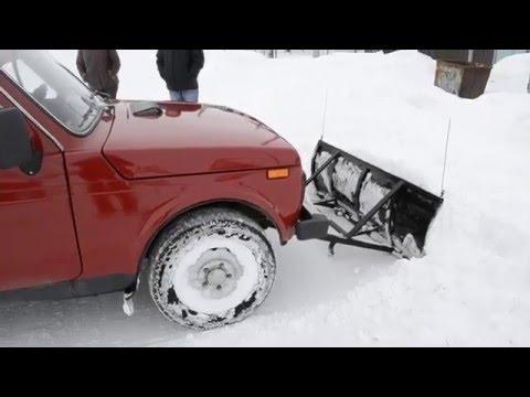 Лопата к автомобилю Нива без лебедки