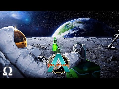 VERY PROFESSIONAL ASTRONAUTS! | Moonbase Alpha Funny Moments