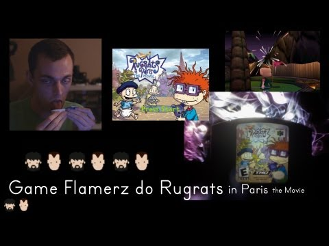 Game Flamerz Do Rugrats in Paris The Movie (N64) (PART I)