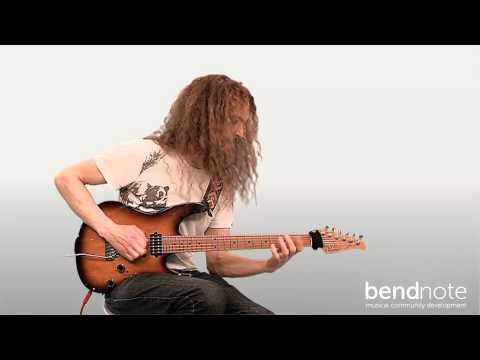 Guthrie Govan - Rock Guitar Lesson - BendNote - Cours de guitare