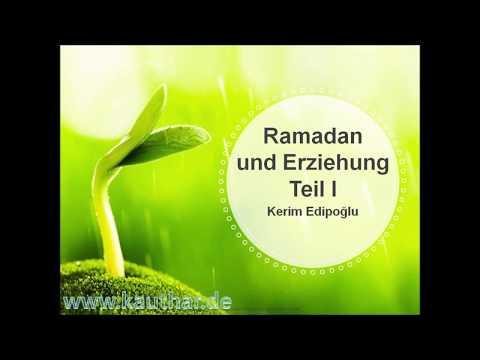 Gedanken zum Ramadan Teil I