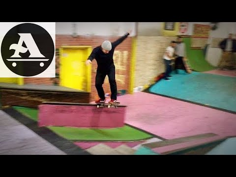 Wicked session at Rad Skatepark