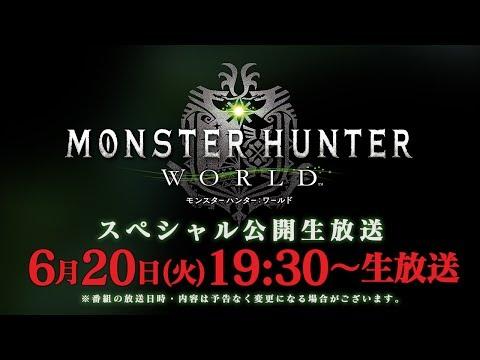 『モンスターハンター:ワールド』スペシャル公開生放送 (06月21日 04:15 / 18 users)