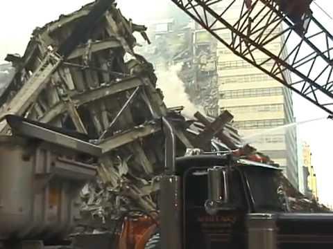 Wtc7 Ground Zero Visit Sept 16 2001