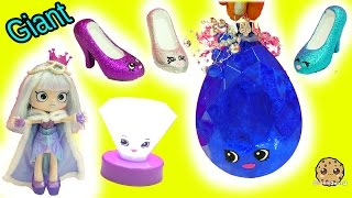 DIY Limited Edition Shopkins Inspired Gemstone, Light Up Diamond & Lipgloss Shoes - Painting Video