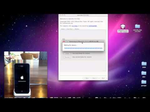 Restaurar iPhone 3Gs, iPhone 4 a cualquier versión con SHSH
