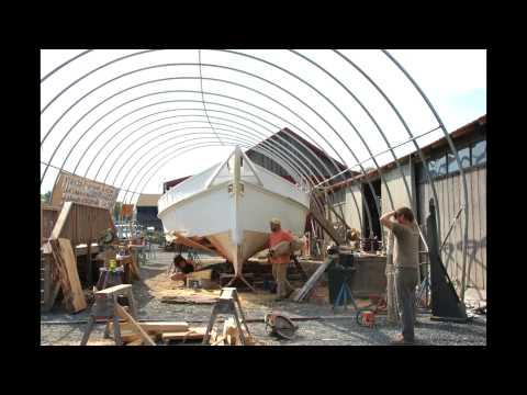 Skipjack Rosie Parks Restoration Update, Summer/Fall, 2013: Chesapeake Bay Maritime Museum