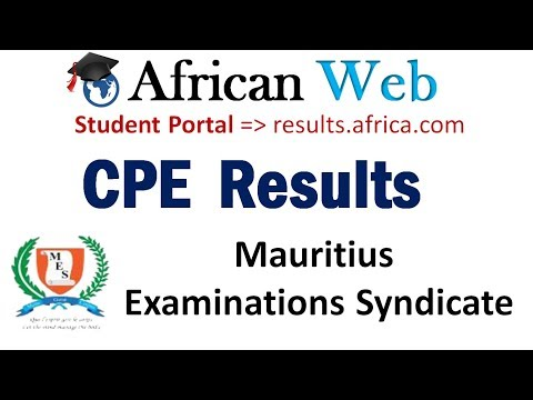 MES CPE Results 2017 Online - How to Check?