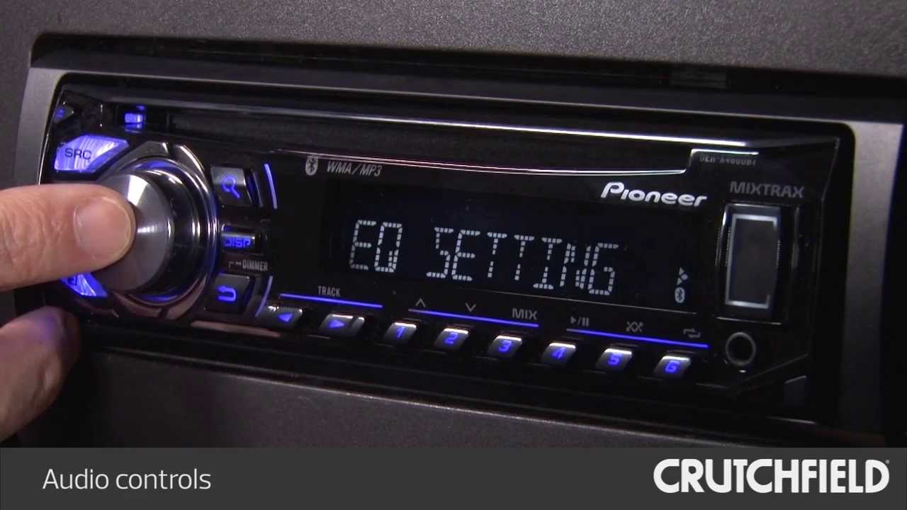Pioneer car stereo change color